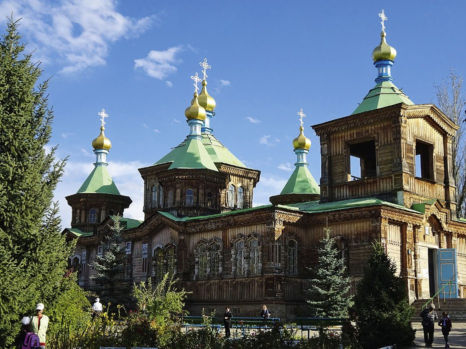 Orthodoxe Kirche in Karakol