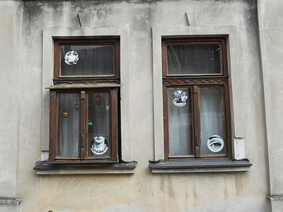 Fenster in Semlin