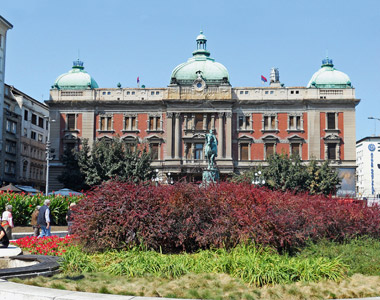 Serbien: Nationalmuseum in Belgrad