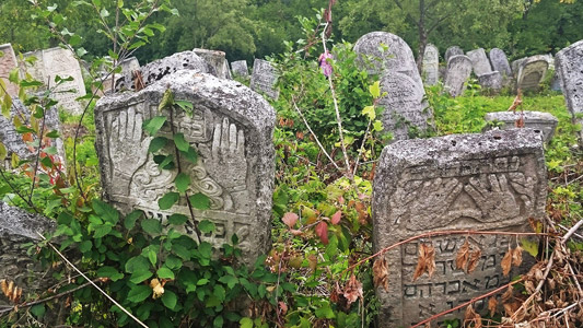 Friedhof in Tschornohuzy